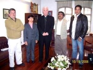 Directivos de la Asociación Católica de Comunicación se reunieron con el Presidente de la Conferencia Episcopal Ecuatoriana