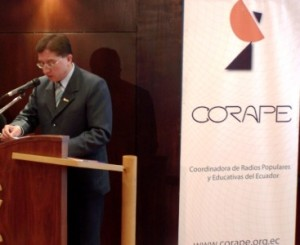 """La CORAPE presentó el informe """"de la CONCENTRACIÓN a la democratización del ESPECTRO RADIOELÉCTRICO"""""""