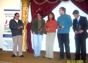 Ganadores del Concurso Nacional de Comunicación Carlos Crespi 2008