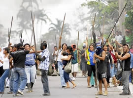 Levantaniento indigena en Paztaza 2
