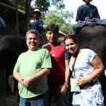 Marcelo Mejía,Mario Tapia y Joan Gámes en Tailandia